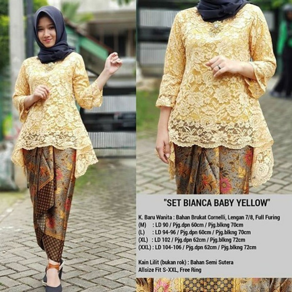 Pakaian Wanita - KEBAYA RINJANI - KEBAYA BROKAT - KEBAYA MODERN - BEST SELLER | Shopee Indonesia
