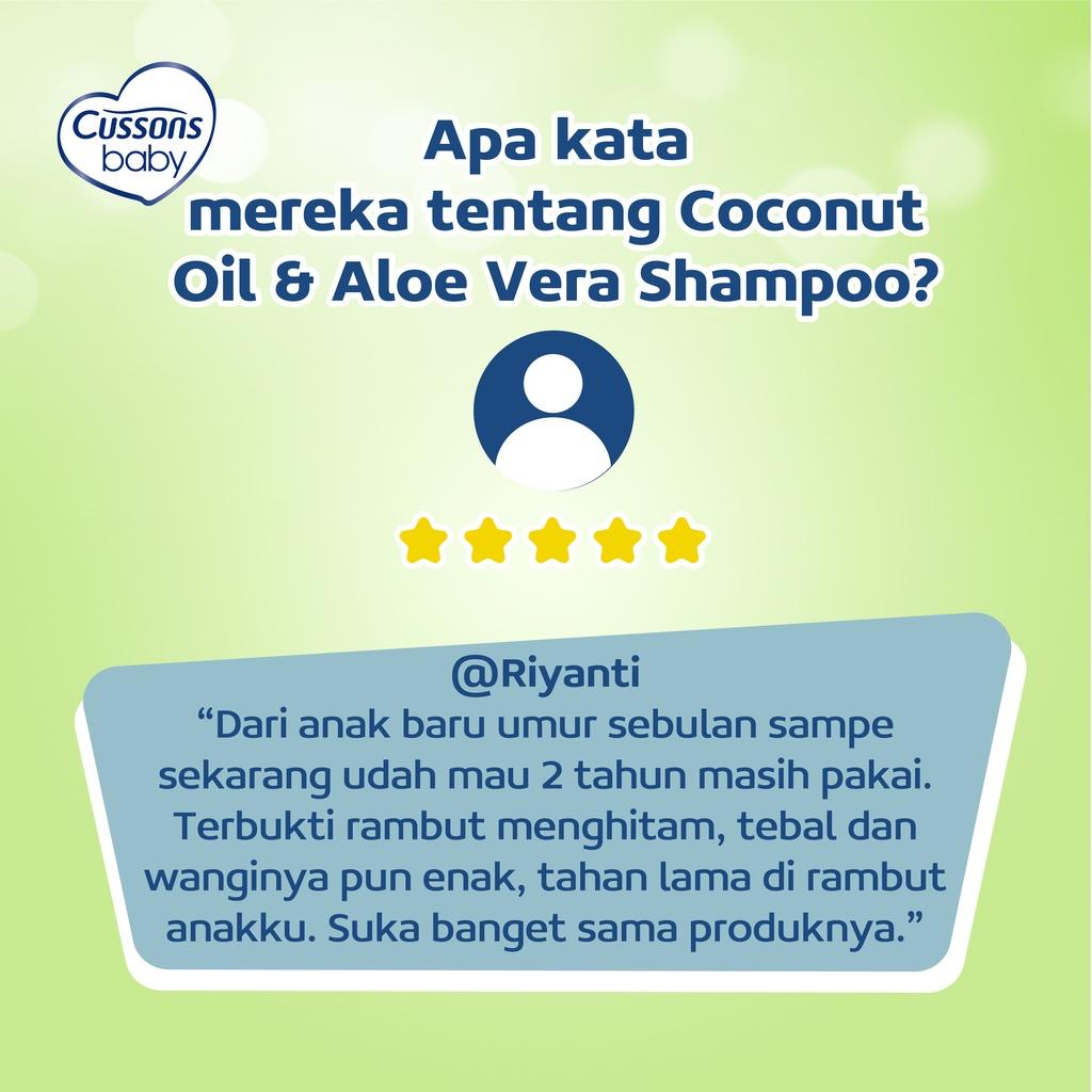 Cussons Baby Shampoo Coconut Oil & Aloe Vera 100ml-6