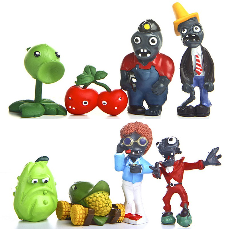 Old Plants Vs Zombies Rp Roblox Free Ongkir 8pcs Lot 5cm 8cm Plants Vs Zombies Pv Action Figures Toys Pvz Plant And Zombies Snow Shopee Indonesia