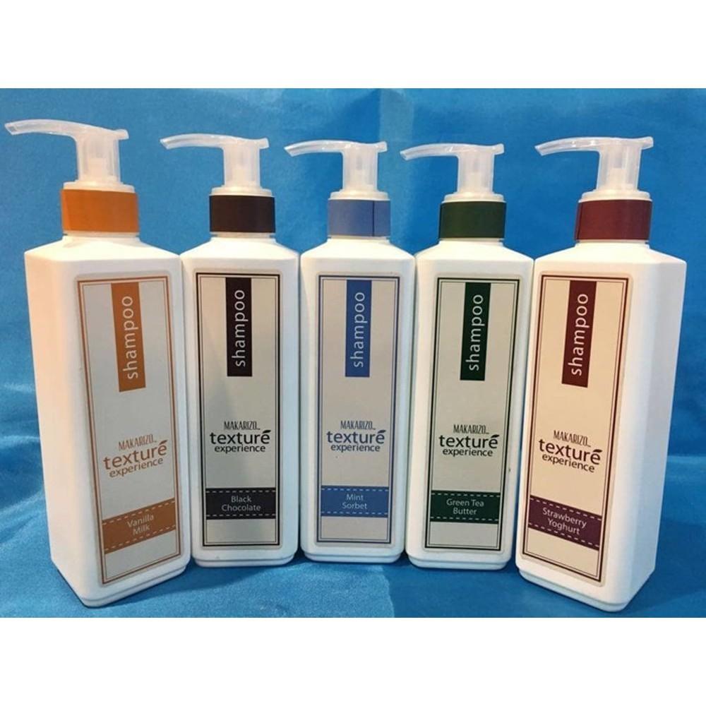 Makarizo Professional Texture Experience Shampoo Black Chocolate 250 Conditioner 250ml Ml Shopee Indonesia
