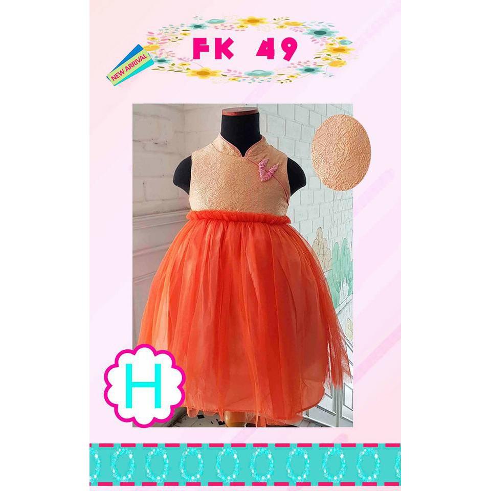 Macbee Kids Baju Anak Dress Singlet Candytuft Flowers Shopee Indonesia Stripy Beetle Size 6 Orange