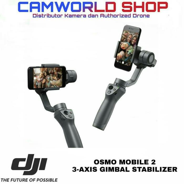 Dji Osmo Mobile 2 Gimbal Stabilizer Dji Osmo Mobile 2 Terbatas Shopee Indonesia