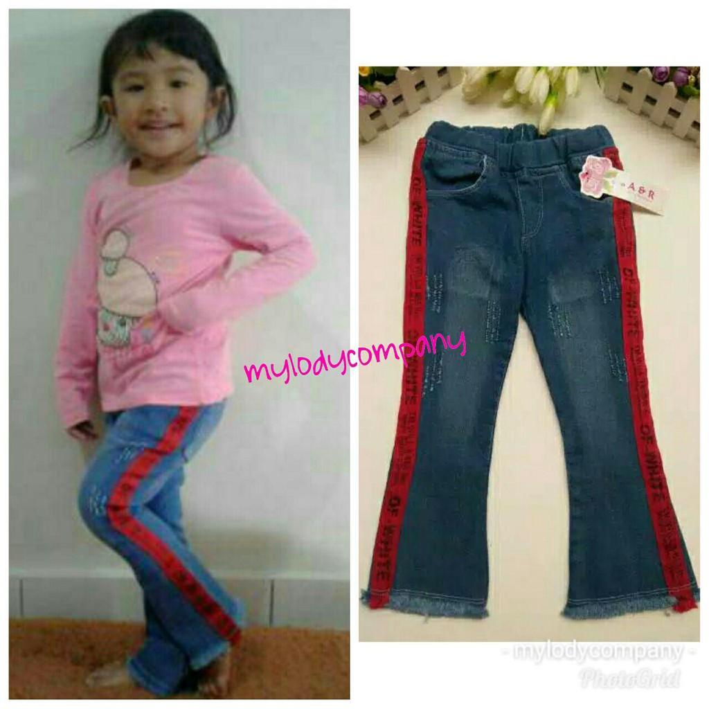 Celana Cutbray Rawis Anak Size 4 Tahun 10 Shopee Indonesia M 1 2