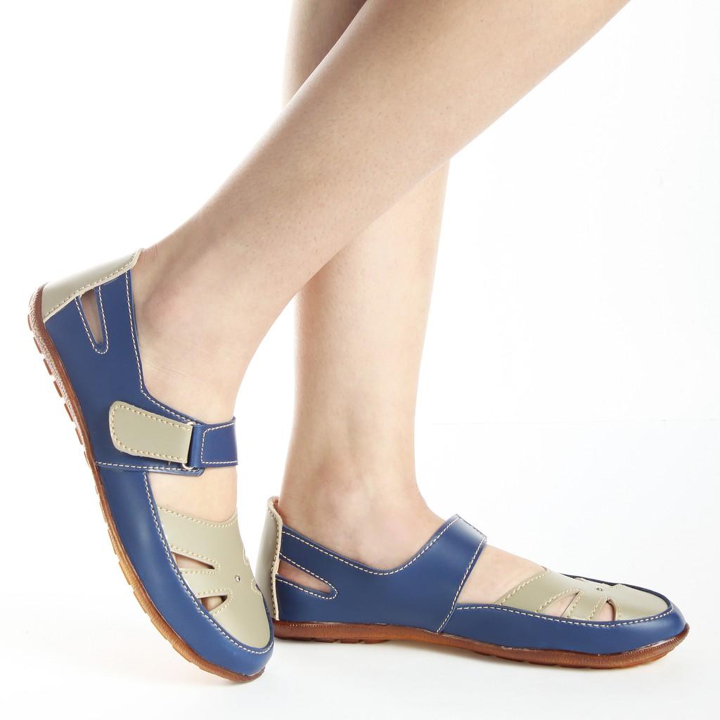 Preloved Flat Shoes Lawrensia Shopee Indonesia Inside Wedges Rensia Black Hitam 37