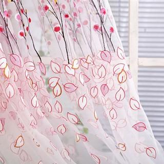 dekorasi: tirai untuk pintu dan jendela bahan kain tulle