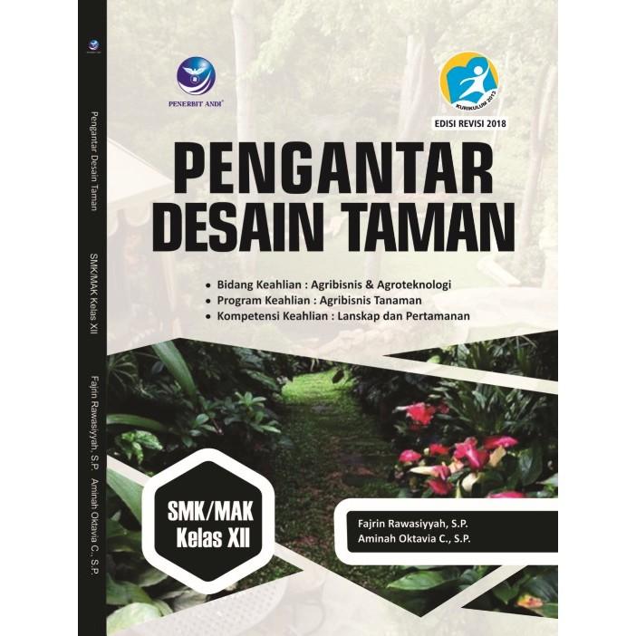 Buku Pengantar Desain Taman SMK/MAK Kelas XII | Shopee Indonesia