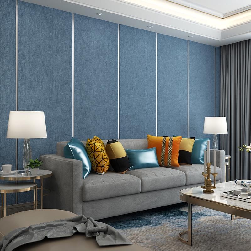 Wallpaper Dinding 3d Bahan Non Woven Lembut Untuk Ruang Tamu Kamar Tidur Shopee Indonesia