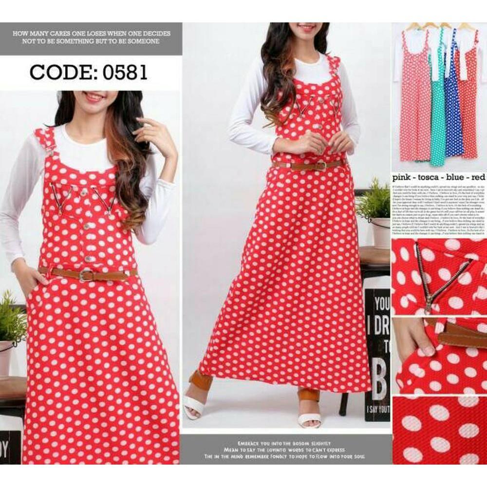 Dress Maxi Ibu Hamil Overall Soft Jeans Bahan Adem Nyaman Kancing Baju Dan Menyusui 1205 Pink Shopee Indonesia