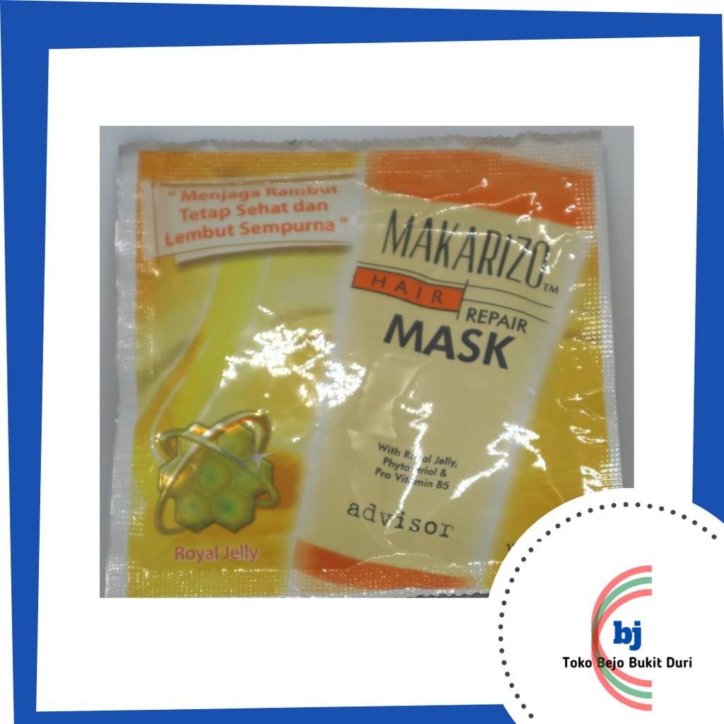 Makarizo Hair Repair Mask 15 Ml Sachet Shopee Indonesia