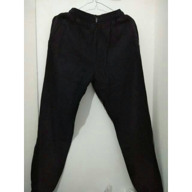 MR Dalima Joger bhn jeans wash aplikasi sobek fit to XL 80rb | Shopee Indonesia