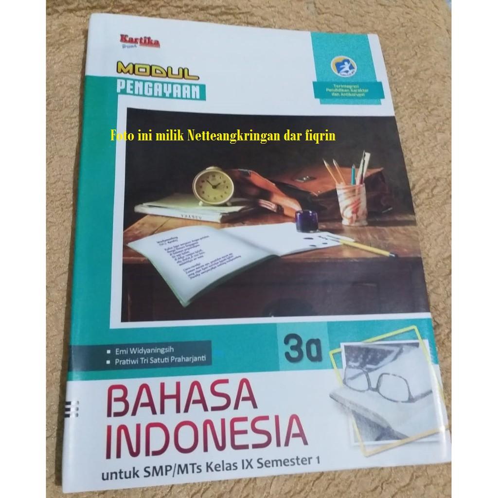 Lks Lembar Kerja Siswa Bahasa Indonesia Smp Mts Kelas 9 Ix Revisi 2018 Kartika Smtr 1 K13 Baru Shopee Indonesia