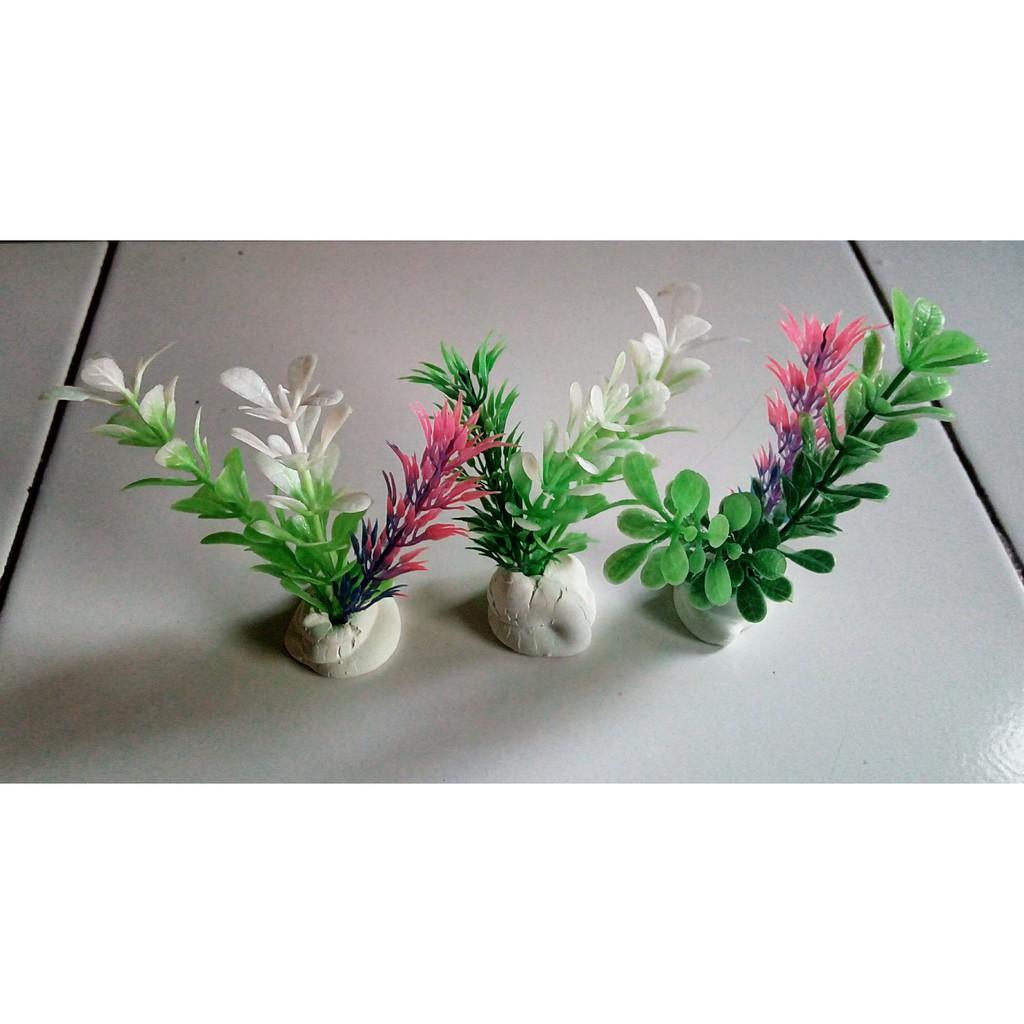 Toko Online Chapoenx Aquarium Shopee Indonesia Tanaman Sintetik Plastik Accessories Dekorasi Kecil 7