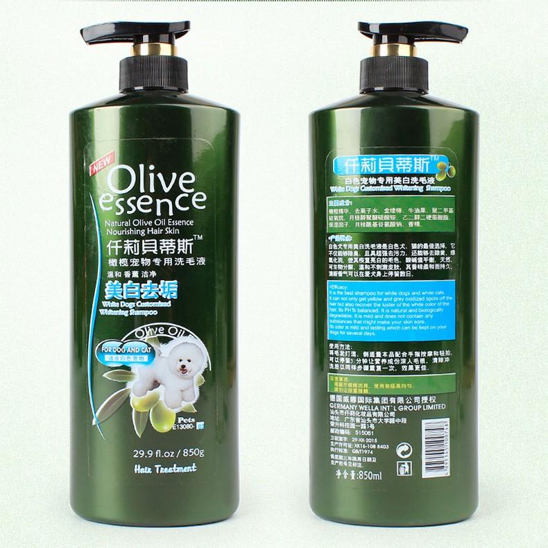Shampoo Olive 450ml all varian Untuk Anjing dan Kucing-Dog&Cat No2 850ml