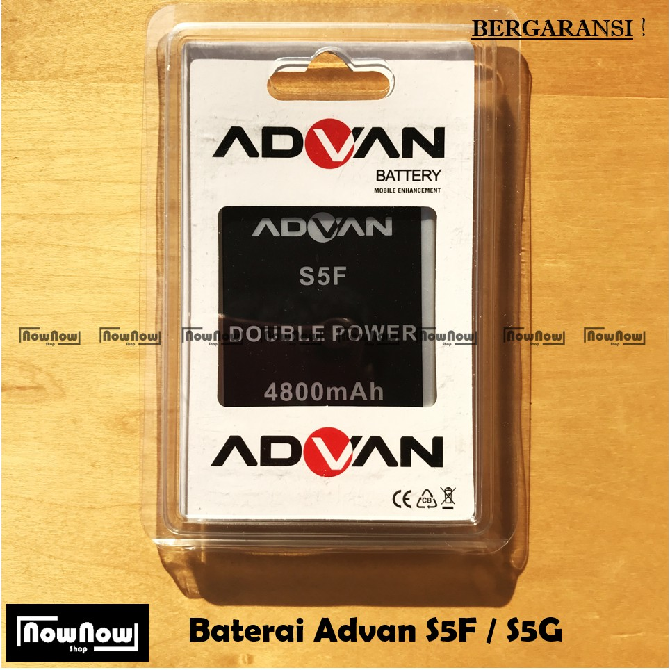 Baterai Advan S5F S5G Original Double Power Batre Batrai Battery HP | Shopee Indonesia