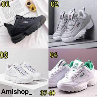 Sepatu FILA Distruptor 2 Women Size 37 - 40 Import Quality Made In Vietnam   51e9ecdc1a