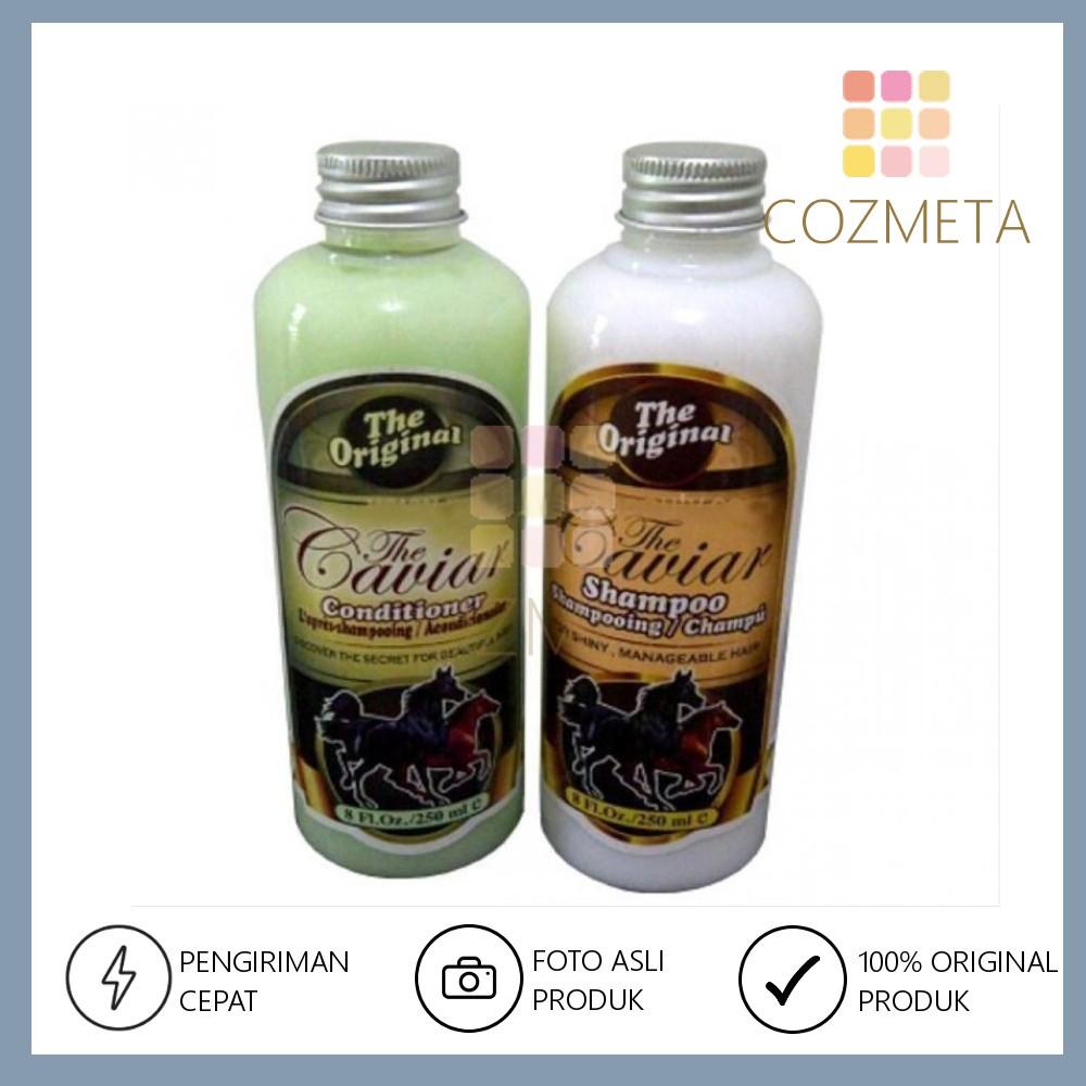 Shampoo Conditioner The Caviar Original isi 250ml Shampo Kondi Kuda