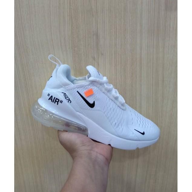 Sepatu Sneakers Nike Airmax 270 x Off White Black
