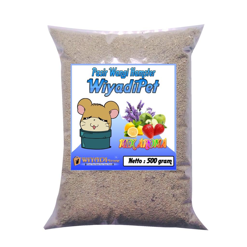Pasir Wangi Gumpal 01 Hamster Repack 500gr Shopee Indonesia Kucing Zeloit