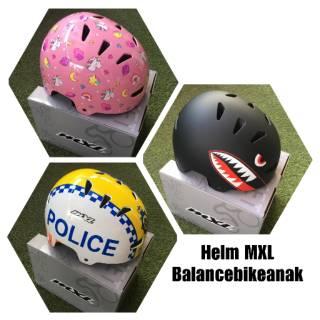 HELM MXL Balance bike anak ( helm sepeda anak, skateboard