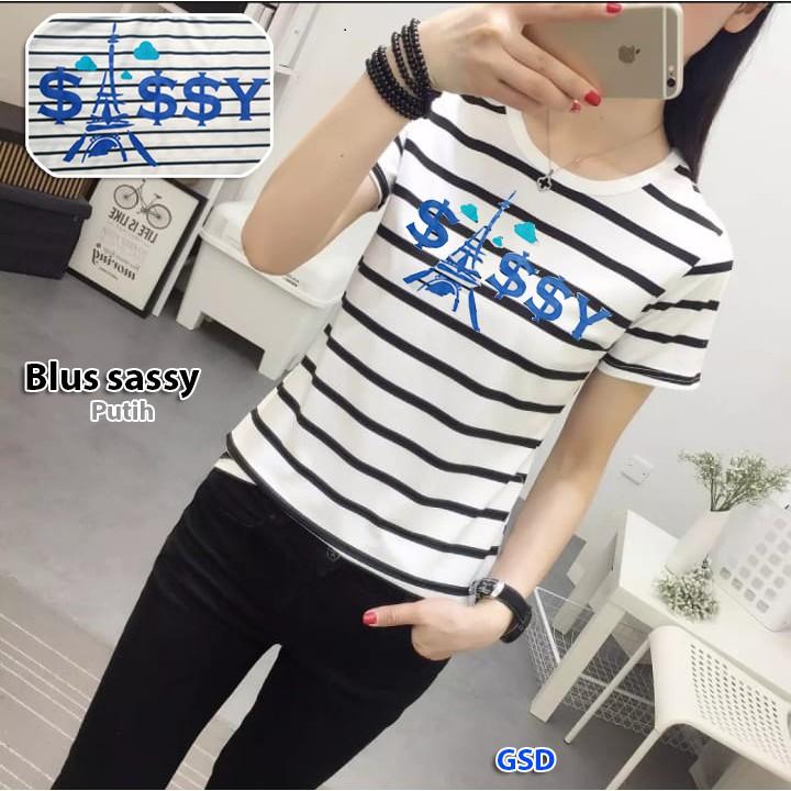 blus turtle atasan blus lengan panjang baju blouse model kelelawar model  parasut lengan panjang  50a9e0138a
