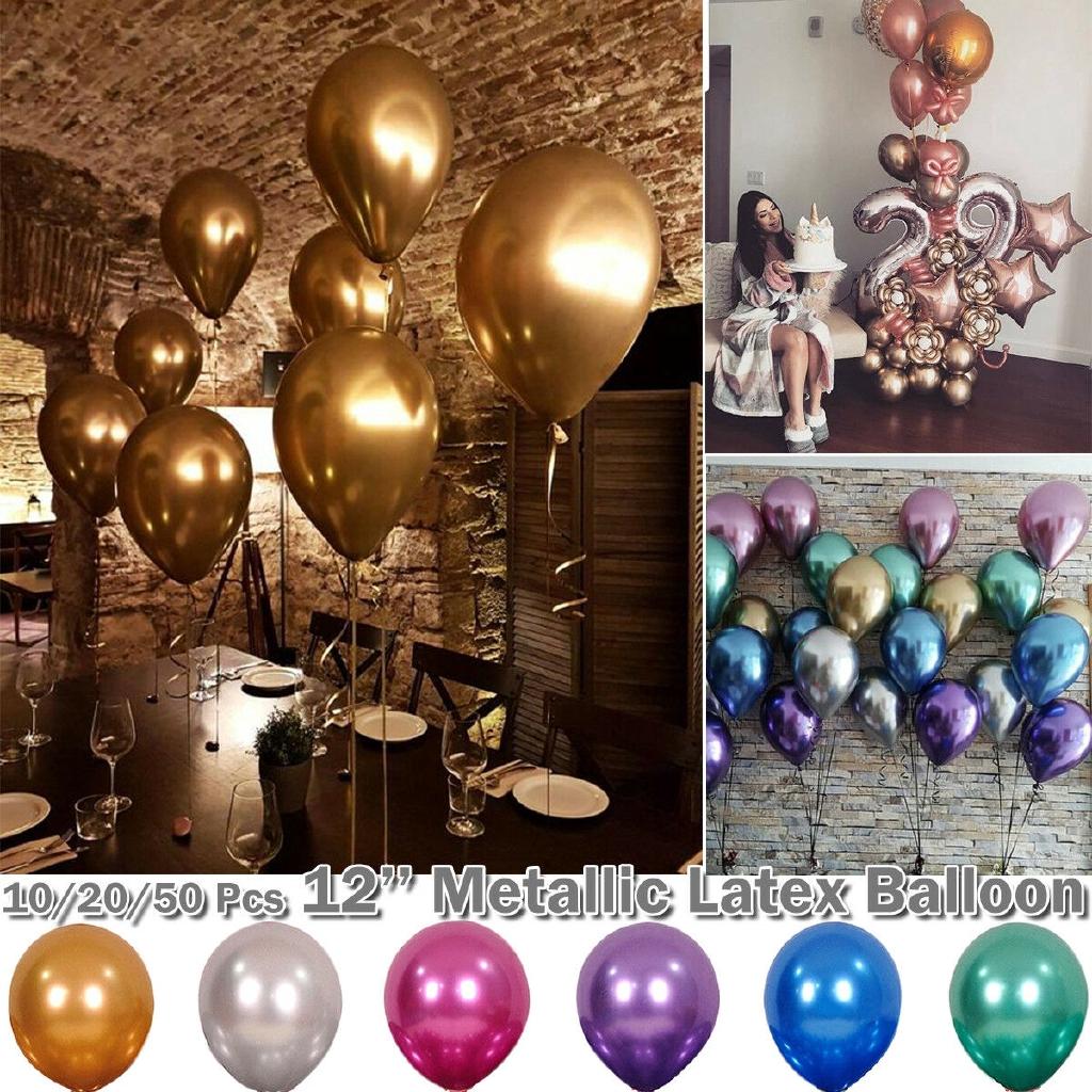 10//20//30pcs Latex Christmas Balloons Wedding Birthday Party Celebration Decor