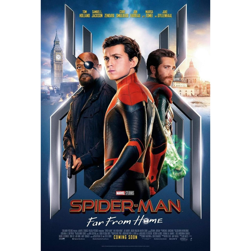Spider Man Far From Home 2019 Shopee Indonesia