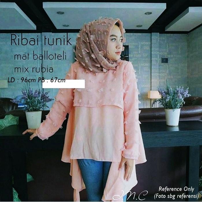 Dapatkan Harga baju murah Atasan Muslim Blouse Diskon  939c438684