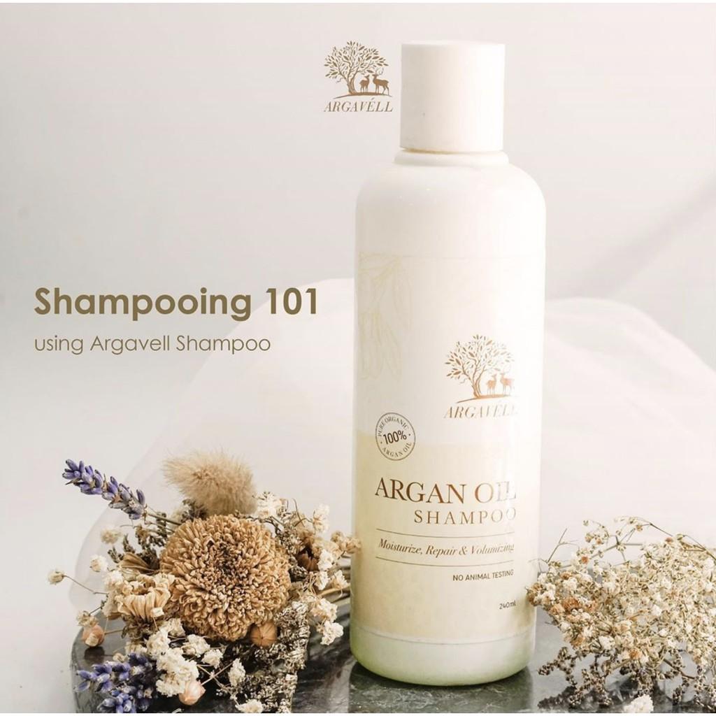 Argan Shampoo Argavell 100% ORIGINAL