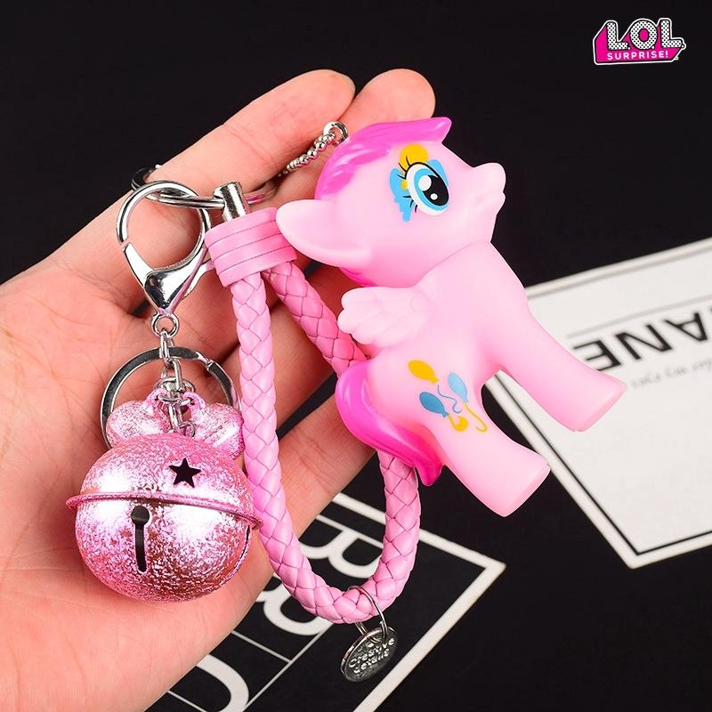 My Little Pony Kartun Pony Doll Pendant Gantungan Kunci Mobil Menggantung Ornamen Shopee Indonesia