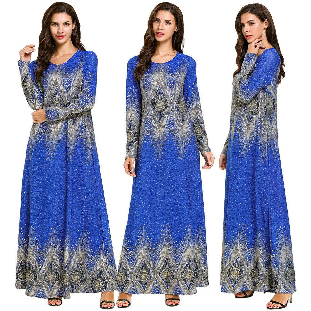 Fashion Wanita Gaya Elastis Merajut Lengan Panjang Hot Stamping Baju Muslim Shopee Indonesia