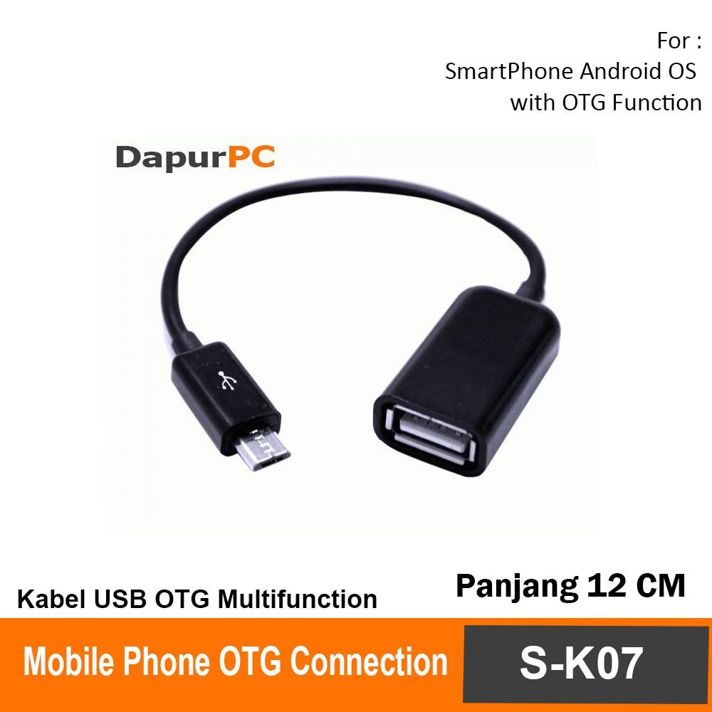 Toko Online 69cellular Shopee Indonesia Kabel Usb Otg Connect Kit Model S K07