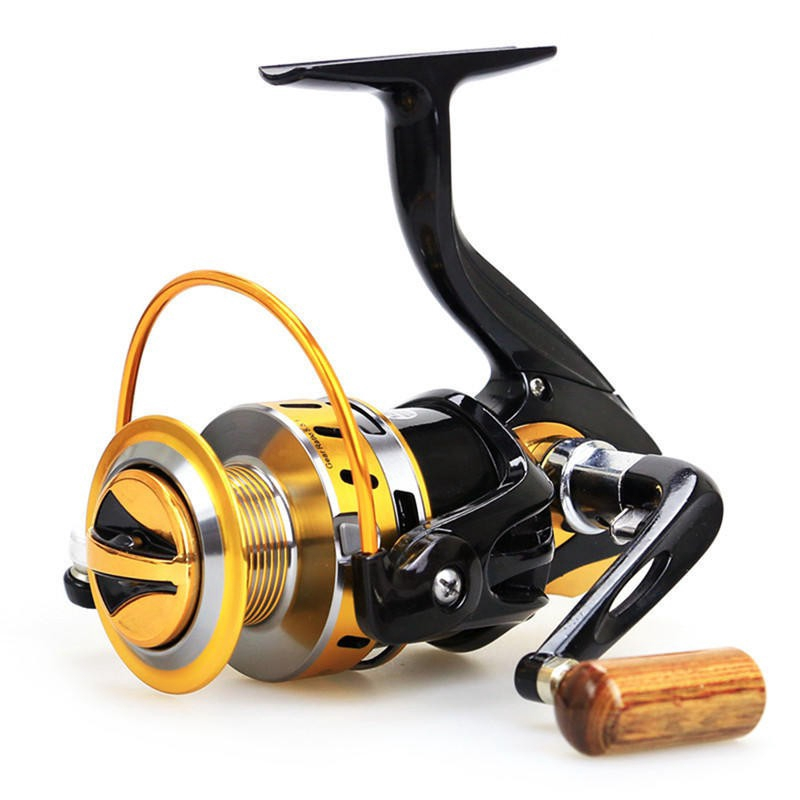 DYS❄Fishing Reels Flash Gold Color Metal Material Spinning Wheel Road Sub-round 10 Bearing | Shopee Indonesia