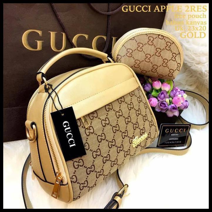 Tas Ransel Kanvas Gucci Wanita Promo Murah Terbaru Limited - Daftar ... b741c294dd