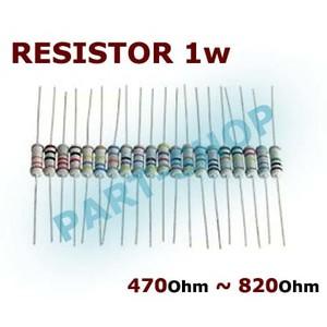 Resistance 1w 470 Ohms 470r 5/%