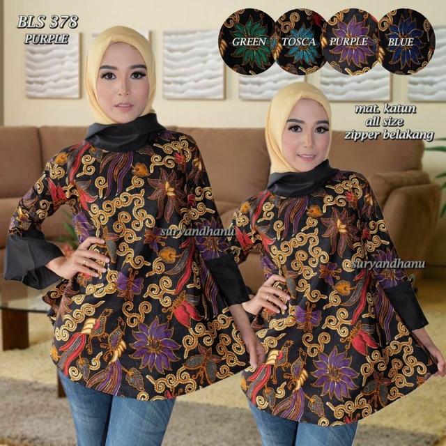 kebaya+hijab+pakaian+wanita+atasan+atasan+batik - Temukan Harga dan  Penawaran Online Terbaik - Maret 2019  0266b460fb