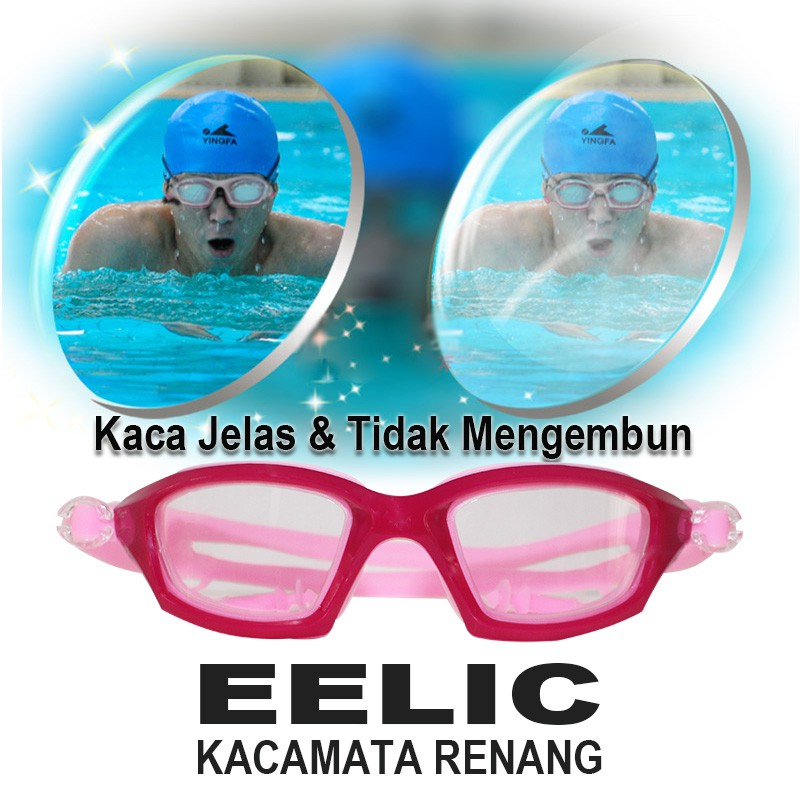 EELIC KAR-2800 BIRU Kaca Mata Renang Anak Usia 2 - 7 Tahun   Shopee Indonesia