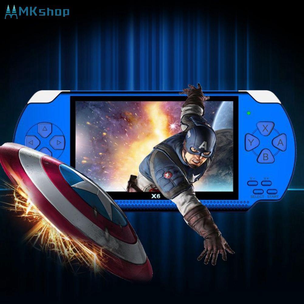 4 3 Inch 32 Bit Handheld Pocket Game Machine Built-In 10000 Games 8GB  Portable [MKshop]