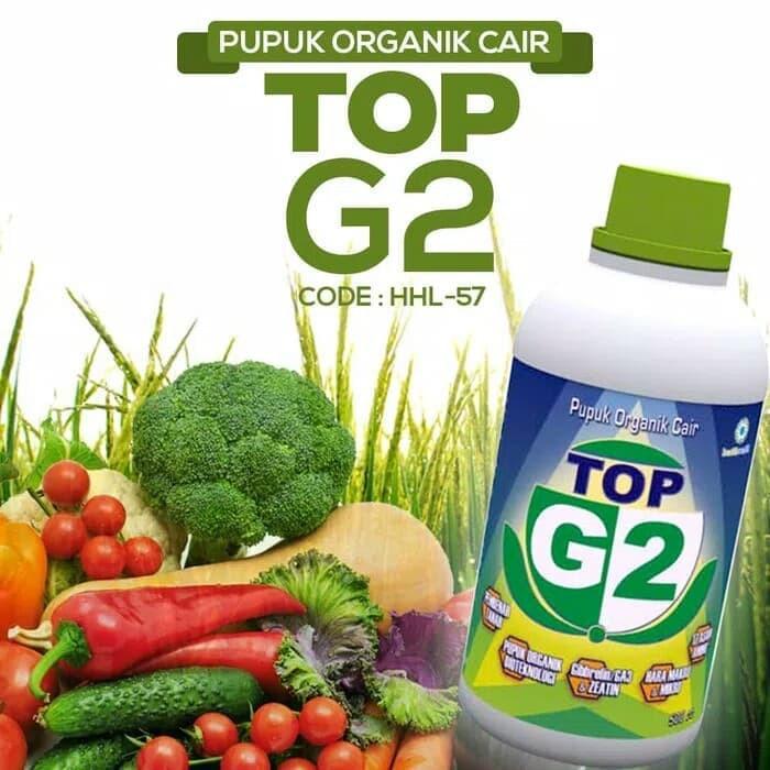 Pupuk Top G2 Pupuk Organik Cair Original Hwi Untuk Tanaman Dan Hewan Ppk 1597 Shopee Indonesia