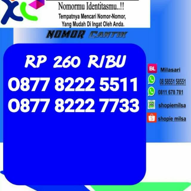 Kartu nomor cantik 88888 XL   Shopee Indonesia -