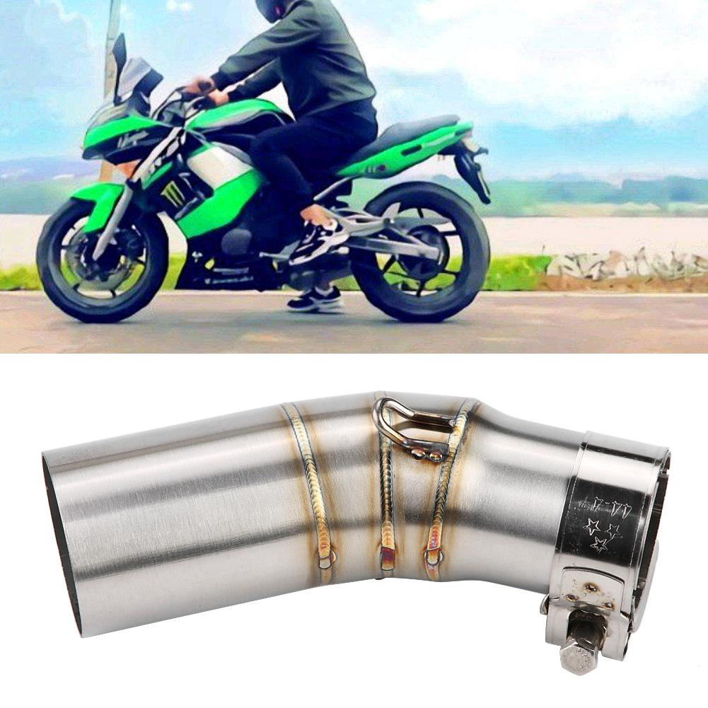 Motorcycle Full Exhaust System Vent Exhaust Front Pipe Exhaust Link Connect R6 2006-2017 Exhaust Vent Pipe