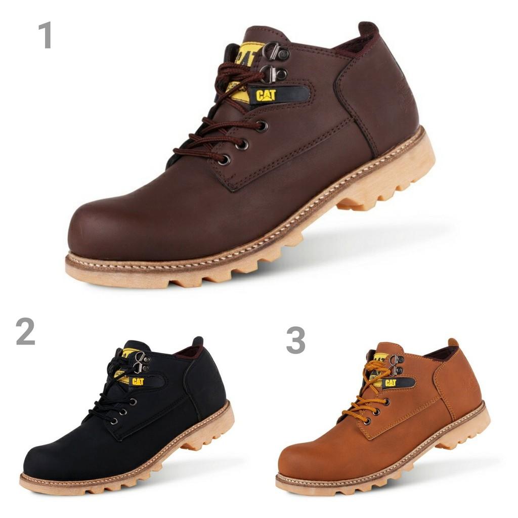 Gino Mariani Benito Exclusive Cow Leather Formal Mens Shoes Elario 1 Casual Tan Cokelat Muda 45 Shopee Indonesia