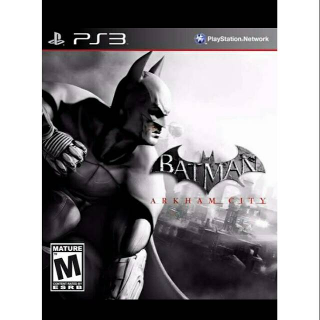 Batman Arkham City Ps3 Shopee Indonesia