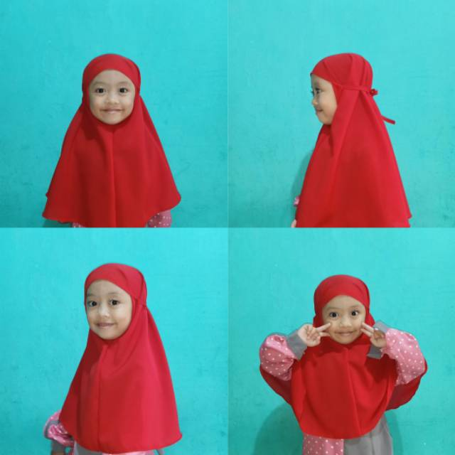 Hijab Bergo Maryam Anak Terlaris 2020 Shopee Indonesia
