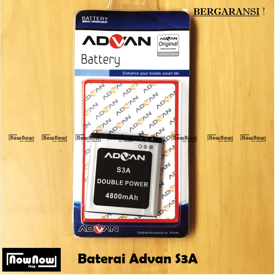 Original Battery S5J Advan Double Power Batre Battery HP Battery
