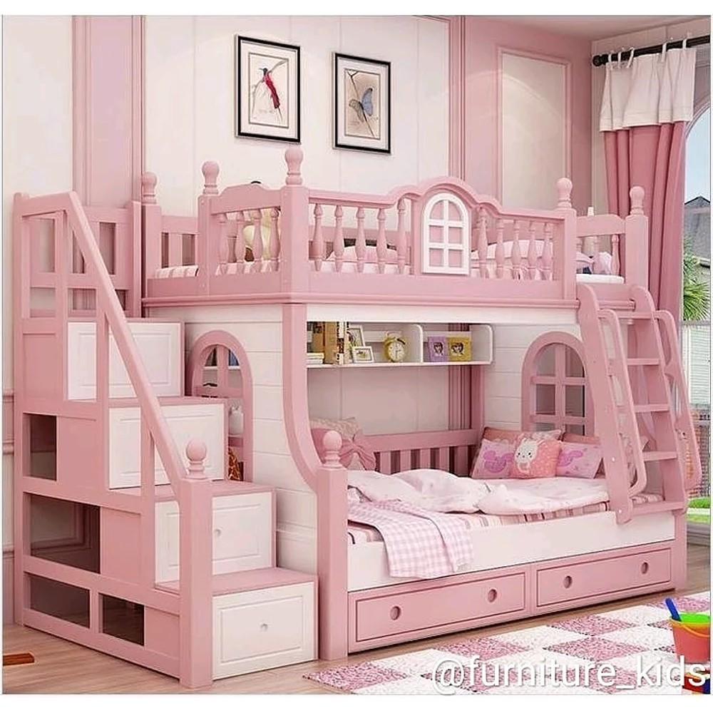 Tempat Tidur Anak-Kamar Anak-Dipan Tingkat