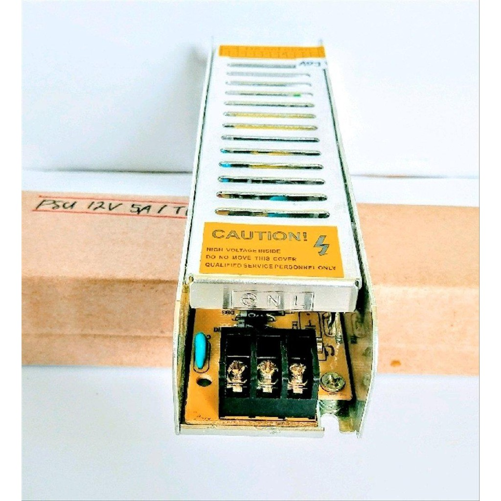 Adaptor 12 Volt 5 Ampere 12V 5A