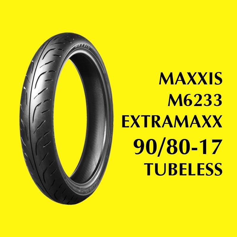 Ban MAXXIS 90/80-17 TL EXTRAMAXX M6233W BAN SOFT COMPOUND