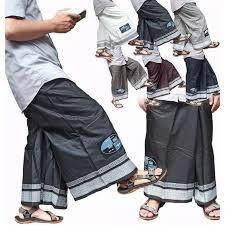sarung celana wadimor dewasa putih polos tumpal ukuran jumbo pria dewasa by galeryjasmine
