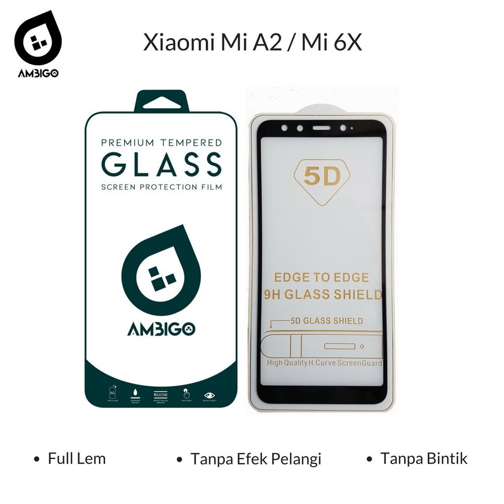 Original Ambigo Tempered Glass 5D Full Cover Kaca Warna For Xiaomi Redmi Note 4X Snapdragon | Shopee Indonesia