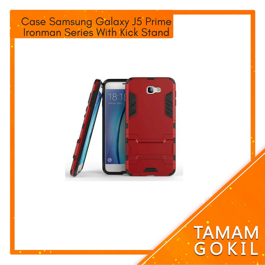 Procase Case Samsung Galaxy J3 Ironman Series With Kick Stand Mode | Shopee Indonesia